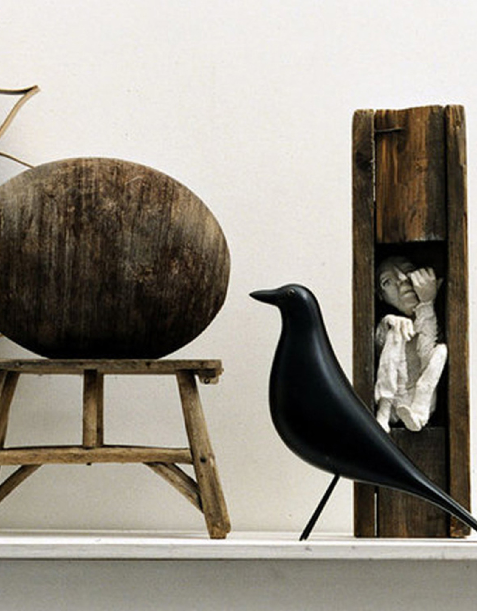 VITRA  EAMES HOUSE BIRD - ELZENHOUT