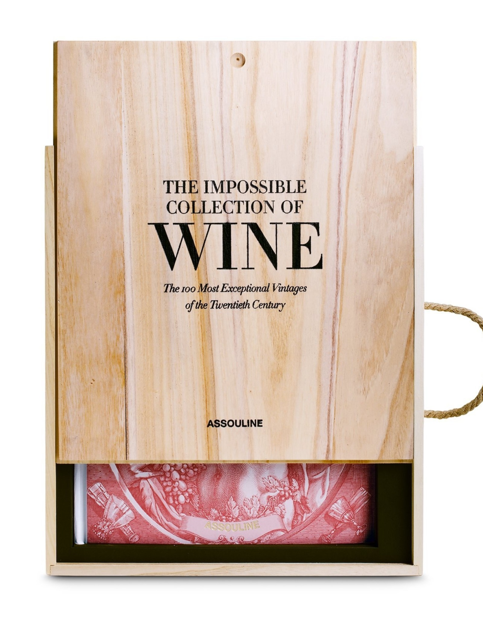 ASSOULINE THE IMPOSSIBLE COLLECTION OF WINE