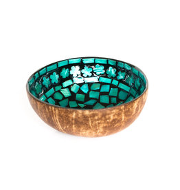 P'TIT POT MOTHER OF PEARL COCONUT BOWL