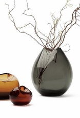 WHEN OBJECTS WORK CAILLOU SMALL VASE - COGNAC