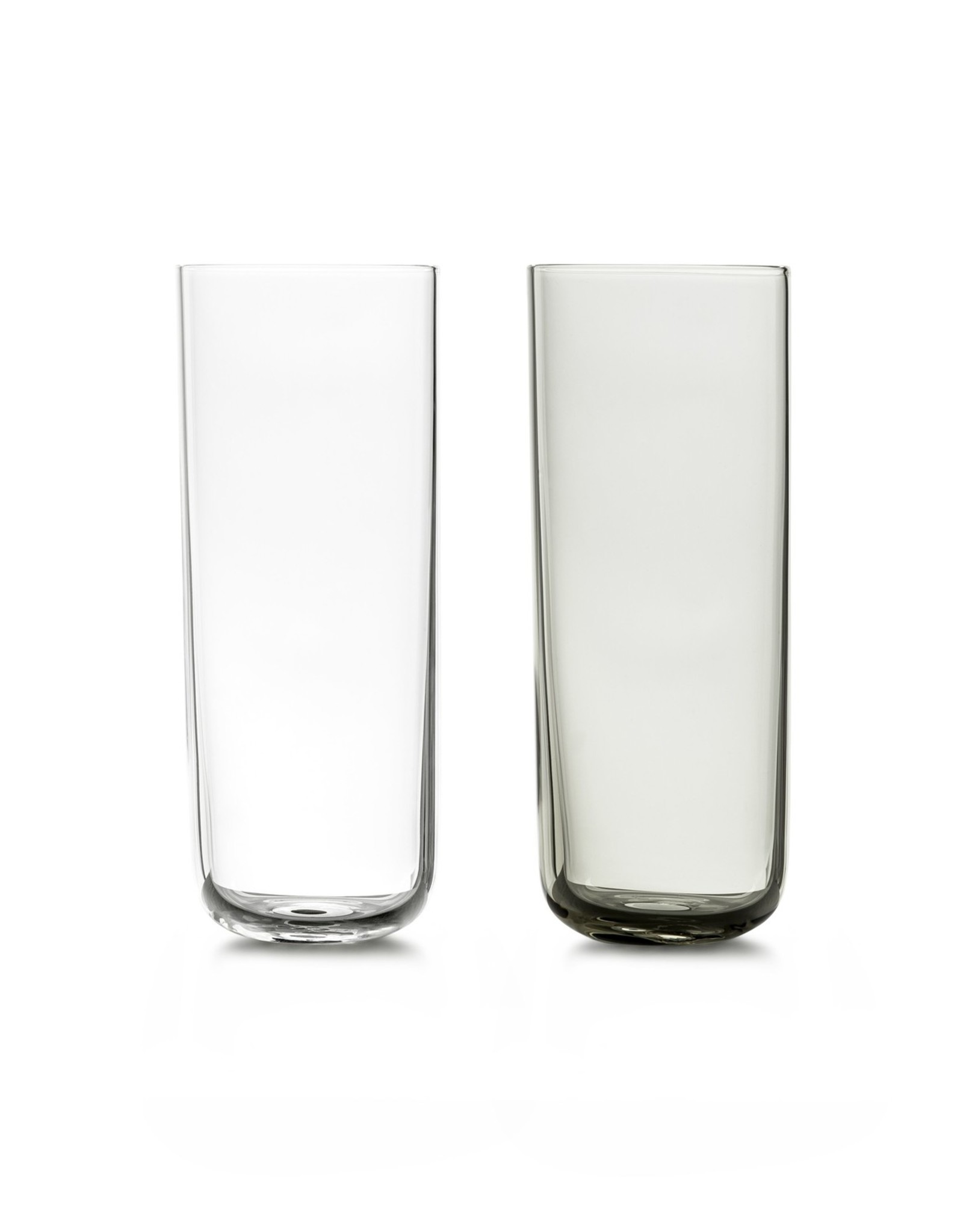 WHEN OBJECTS WORK VVD CHAMPAGNE GLAS TRANSPARANT (SET PER 6 STUKS)