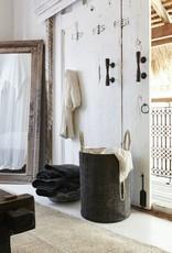 THE DHARMA DOOR BODA BASKET - CHARCOAL