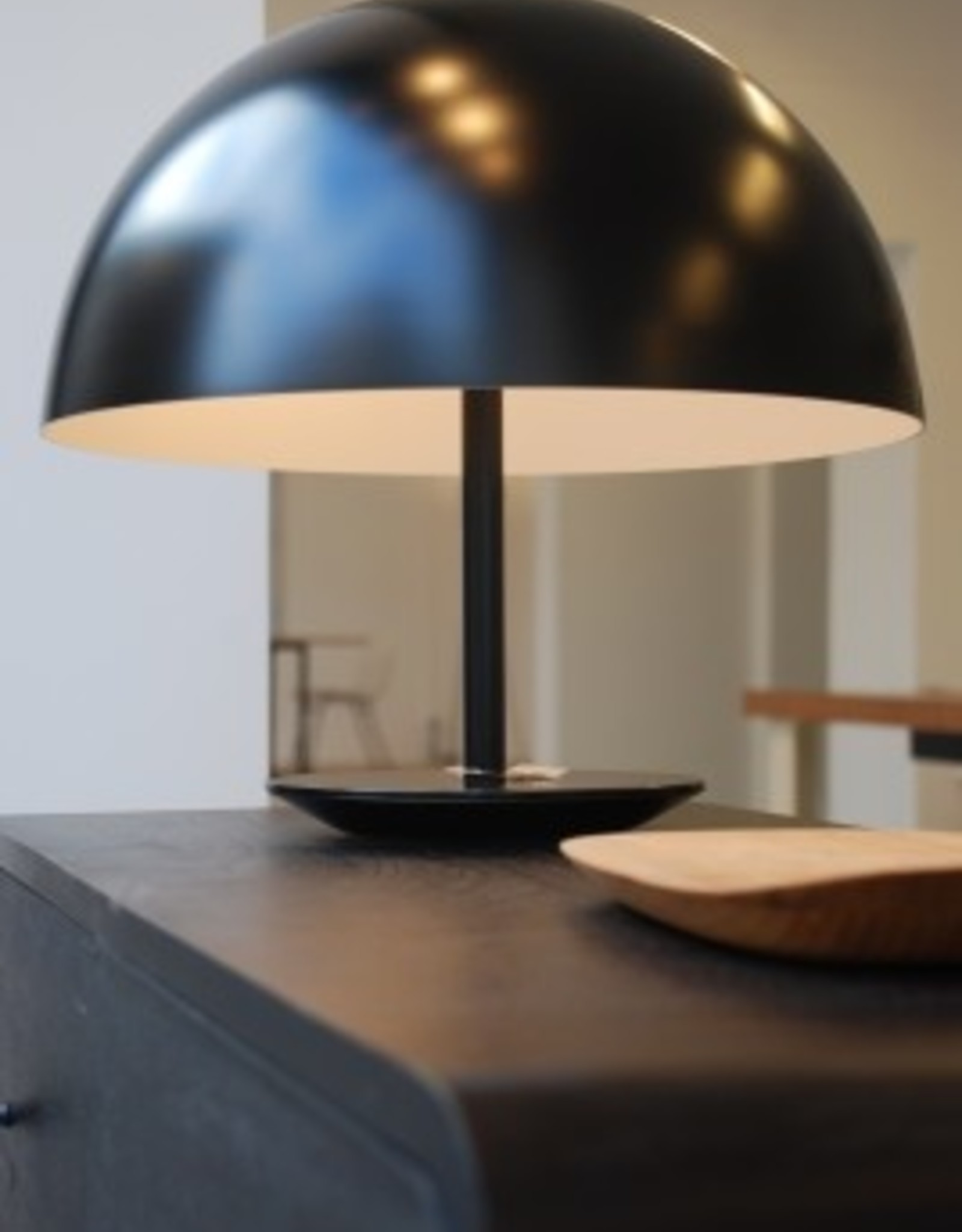 MATER DOME LAMP - ZWART