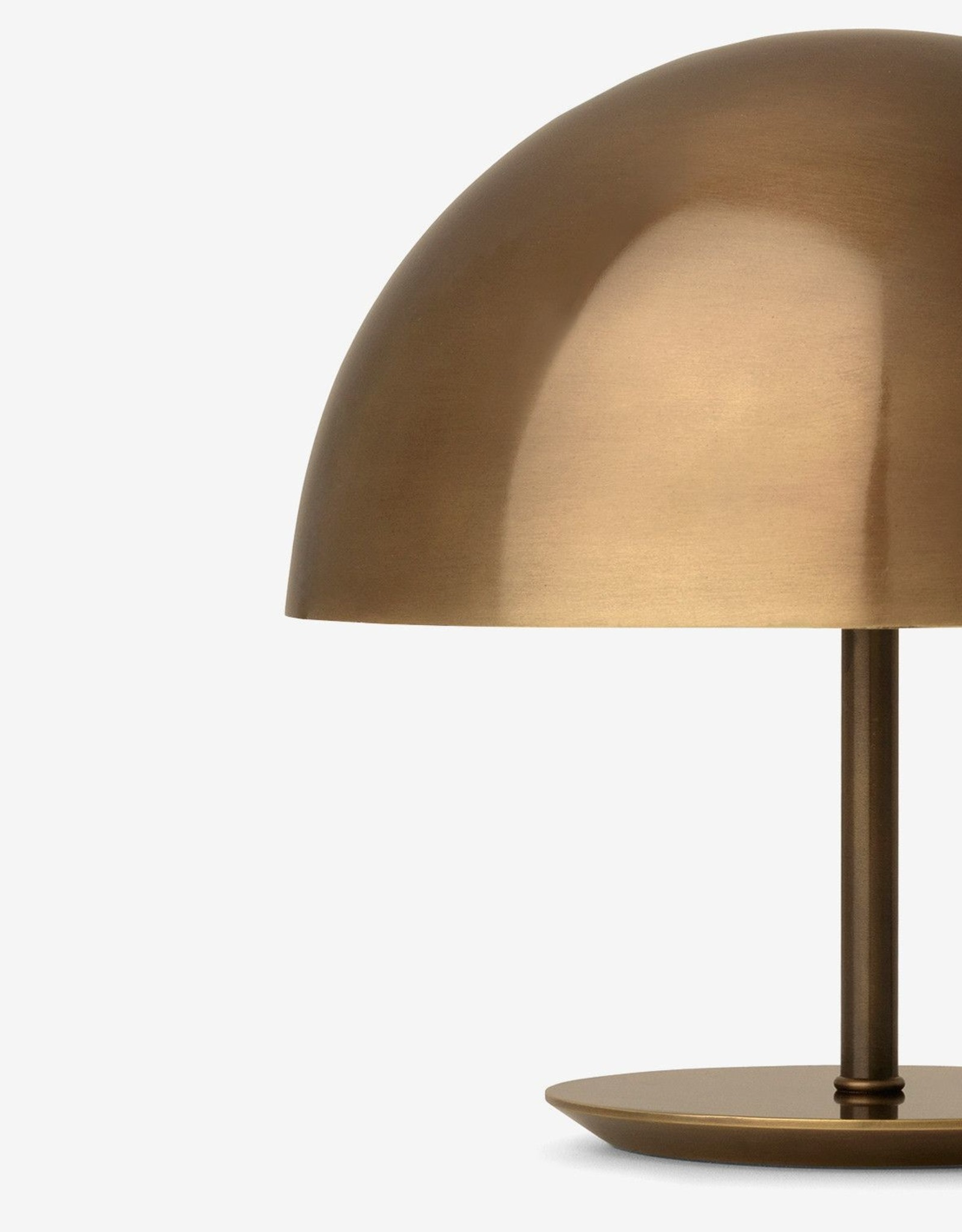 MATER BABY DOME LAMP - MESSING