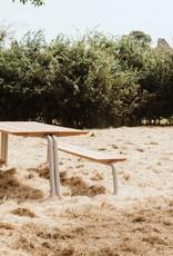 WÜNDER THE TABLE LARGE - LICHTGRIJS