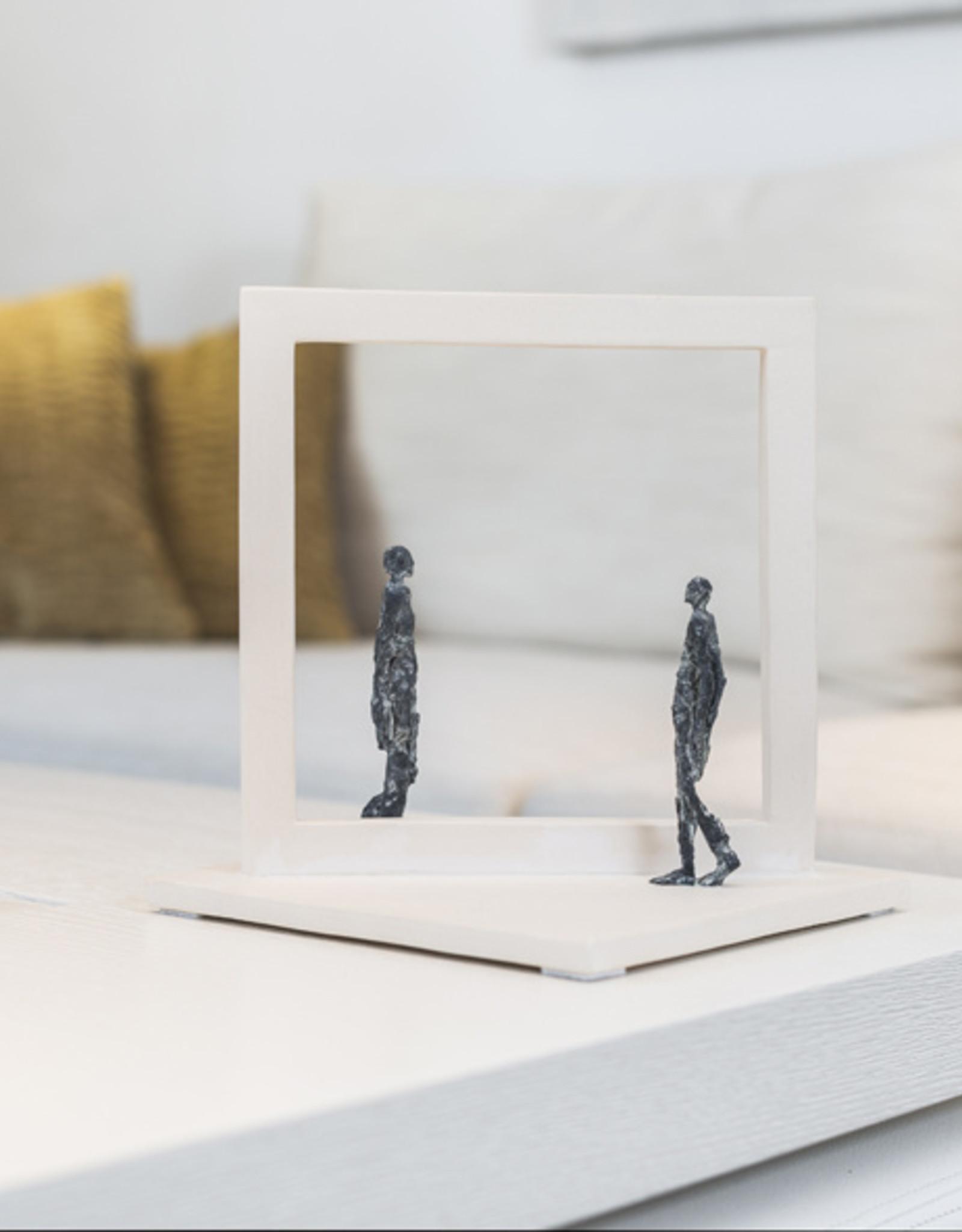 LINDE ERGO REFLECTION - BRONZEN BEELD