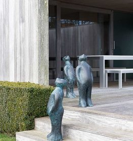 GUIDO DELEU THE VISITOR BRONZE