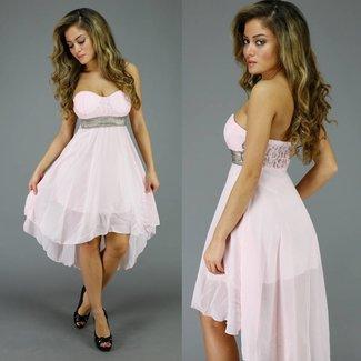 !OP=OP Mullet Kleid mit Spitzen-BH Rosa