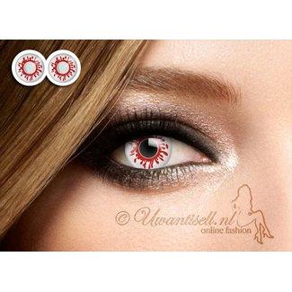 Crazy Lenses: Objektive Halloween Blut Hunk