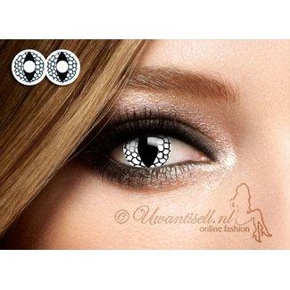 Crazy Lenses: Objektive Drachen Schwarz / Weiß