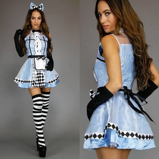 Sexy Alice im Wunderland Kostüme