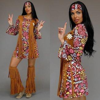 Hippie-Kostüm