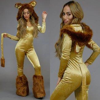 Luxus Lions Kostüm mit Beinlinge