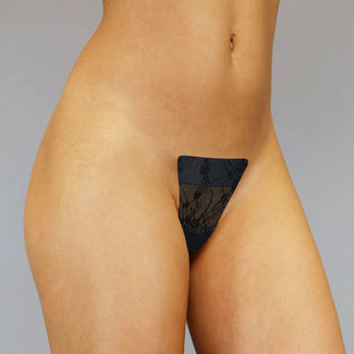 Laten Staan Adhesive Invisible String Black Lace
