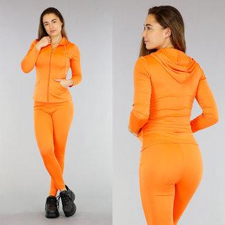 Sportanzug in Orange