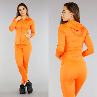 Sportanzug Jacke mit orange