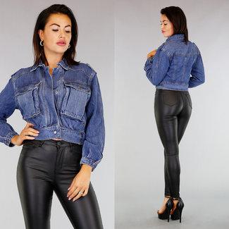 Bomberjacke Jeans
