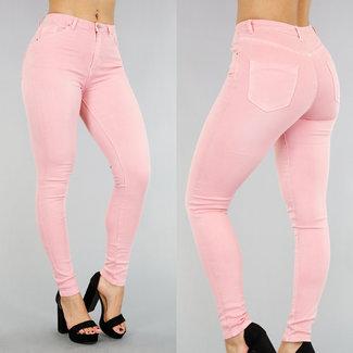 NEW0403 Hellrosa High Waist Jeans
