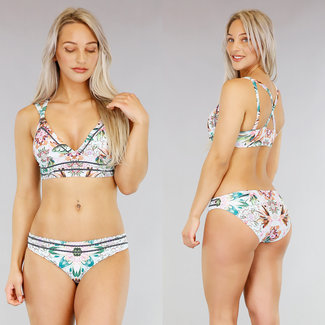 NEW1103 Longline-Druck-Bikini