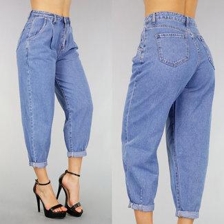 NEW2503 Schauen Sie Old High Waist Jeans Baggy