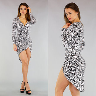 Leopard Mullet Kleid
