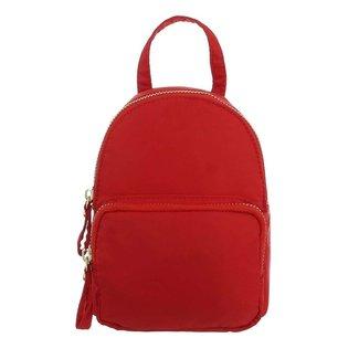 NEW0804 Basic Red Mini-Rucksack