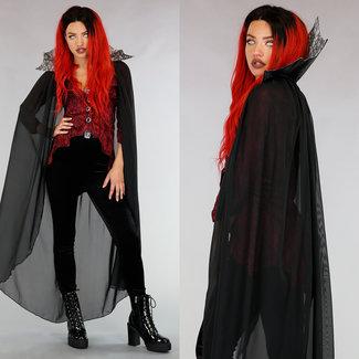 Vampir-Kostüm mit Cape