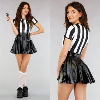 Sexy Schiedsrichter-Kostüm