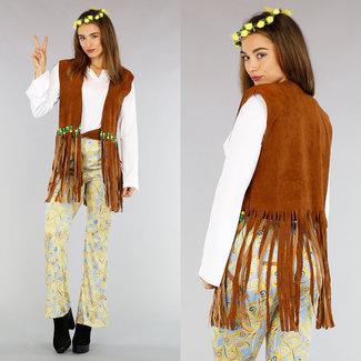Kostüm 'Hippie Flower Power'
