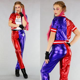 Suicide Squad Harley Quinn Kostüm mit Zubehör