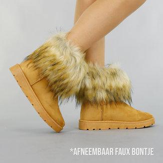 !OP=OP Kamel-Pelz-Knöchel-Schnee-Aufladungen