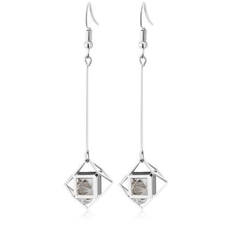 Sparkle Silber-Ohrringe