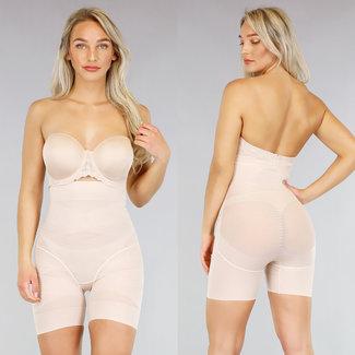NEW0605 Korrektive High Waist Panty Zimt Nude