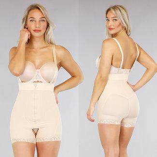NEW0605 Korrektive Nude Body mit Schultergurte