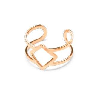 !OP=OP Rosà © Ring mit Diamanten