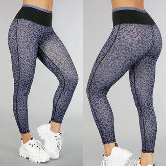 High Waist Legging Leopard Sport