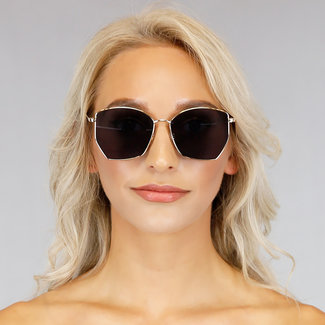 NEW1006 Classic Metal Sonnenbrille mit Goldrahmen