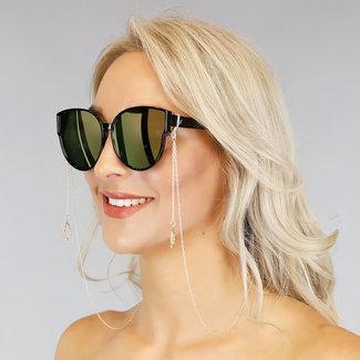 NEW1006 Gold Sonnenbrille Schnur mit Anhänger