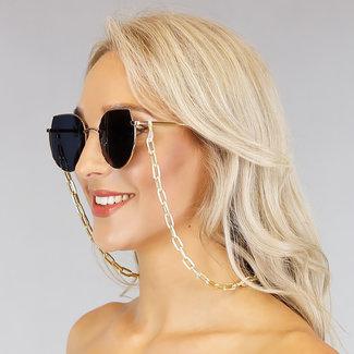 NEW1006 Sonnenbrille mit Silberschnur Grove Schalter
