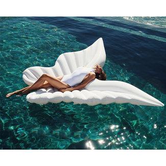 NEW1706 Aufblasbare Weiß Angel Wings