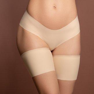 NEW1706 Nude Silk Anti-Rutsch Schenkelbänder