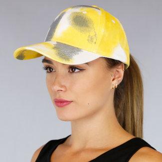 NEW0807 Yellow Tie Dye-Hut