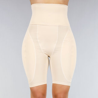 Nude Ultra High Taille Hüfte und Bill Lifthose mit Pads