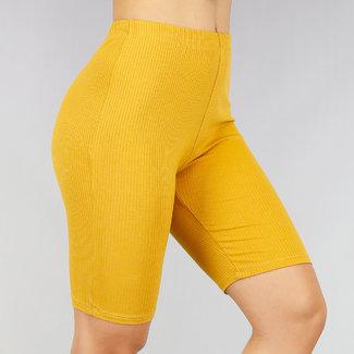 Mustard Rib Short Cycle