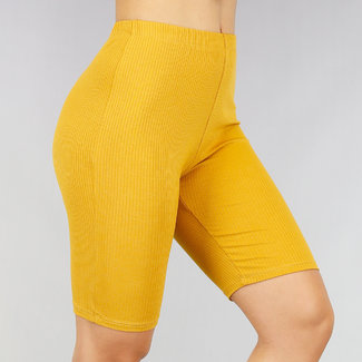 NEW1507 Mustard Rib Short Cycle