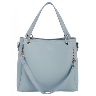 NEW2207 Nette hellblaue Handtasche