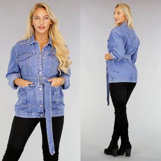 NEW2608 Loose Fit Jeans mit Gürtel