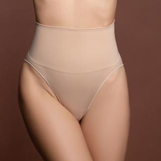 NEW2309 Korrektive Nahtlose hohe Taillen-Slip-Nude