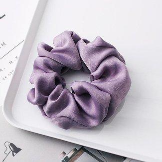 NEW1802 Purple Velvet Blick scrunchie