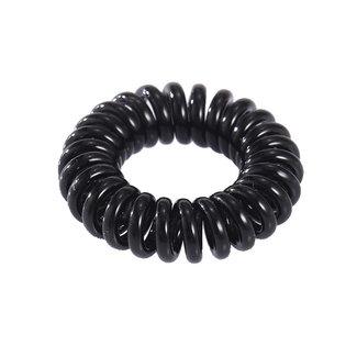Schwarz Unsichtbare Haar Elastics